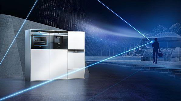 Siemens Kühlschrank Kamera : Siemens iq home connect kg fsb kühl gefrier kombination a